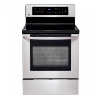 LG Electric Stainless Steel Range LRE30453ST Convection Oven ASIS