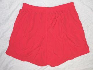 Lifeguard Nylon Red Swim Basic Trunk New Mens 2XL XXL