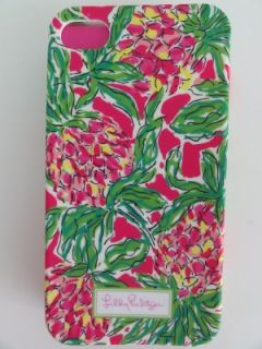LILLY PULITZER IPhone 4 / 4S SPIKE THE PUNCH Mobile Cell Phone Pink