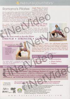 Romanas Pilates Mat Challenge Workout New DVD