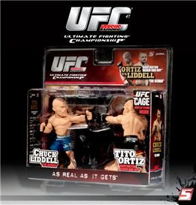 Tito Ortiz vs Chuck Liddell Round 5 UFC Versus Figure