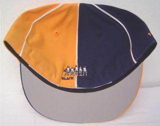 Lincoln University Penn Black Fives Fitted Flatbill Cap