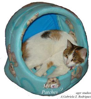12 Dollhouse Miniature Cat & Toy Furred Realistic Handmade Kitten IADR