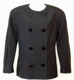 Linda Allard Ellen Tracy Sz 6 Black Silk Lined Career Business Dress