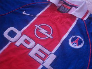Vintage PSG Paris Saint Germain France Ligue 1 1997 Football Shirt