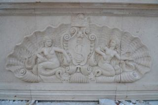Hand Carved Estate Marble Custom Made Entertainment Bar CMB1