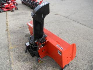 kubota b2782 front snow blower hyd chute rotator nice