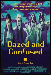 DAZED & CONFUSED 1993 Original 27x40 Marijuana Pot Drugs Comedy Ben