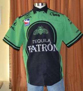 Patron Tequila Firestone Indy Racing Shirt Mens Medium