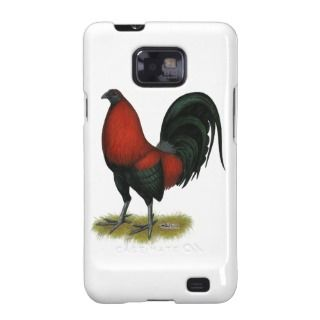 American Game BB Black Red Rooster Samsung Galaxy S Case