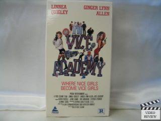 Vice Academy VHS Linnea Quigley Ginger Lynn Allen 086625445136