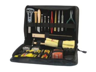 Deluxe Jewelers Watchmakers Battery Changing Watch Tool Kit Set New