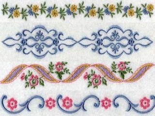 Linens 2 Machine Embroidery Designs