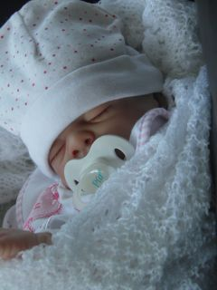 Lifelike Reborn Baby Girl Doll Daecy created by Wendys Little Angels