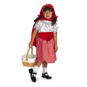New Little Red Riding Hood Cape Costume Outfit 3T 4T Toddler Girls