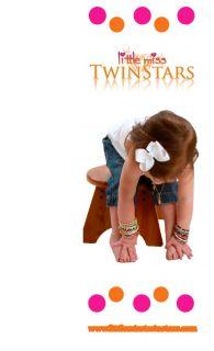 Little Miss Twinstars 14k Gold Plated Silver Earrings