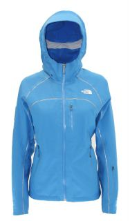 New The North Face Womens Lizzie Apex Jacket Blue Size Medium $349