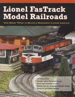 Lionel Trains FasTrack Railroad Guide Diagrams Layouts