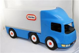 Little Tikes Little Tykes Semi Truck Hauler Ride on Toy Very Good