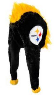 Pittsburgh Steelers NFL Football Short Dangle Mohawk Winter Hat