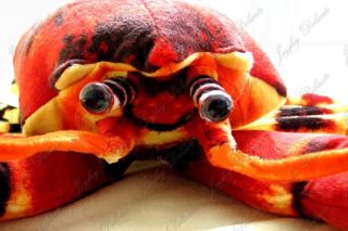 Giant Huge Big 43 Red Lobster Stuffed Plush Animal Toy