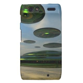 Flying Saucer Flee case Droid RAZR Cases
