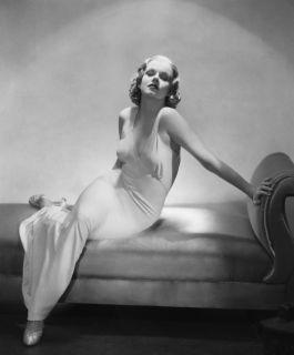 Vintage 1930s Silk Maxi Dress Ballgown Wedding Goddess Harlow Iconic