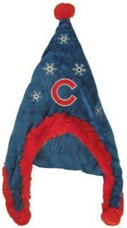 Chicago Cubs Baseball Soft Fleece Snowflake Dangle Hat