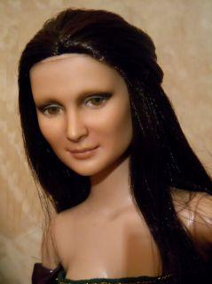 OOAK Tonner Doll Mona Lisa Repaint by Paolina de Morcey