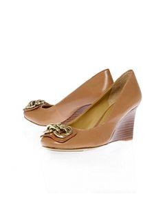 Nine West Tanaya Wedge Court Shoes Navy