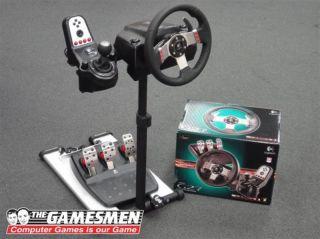 Racing Simulator Fanatec RennSport Steering Wheel Stand Logitech G25
