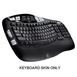 New Logitech Wave Ergonomic K350 MK350 Clear Computer Keyboard Cover