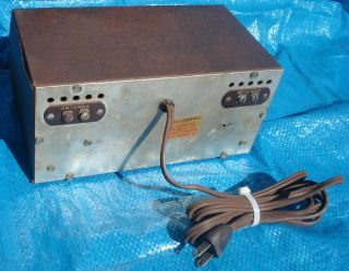 BH359 Vtg Anchor Two Stage TV Preamplifier