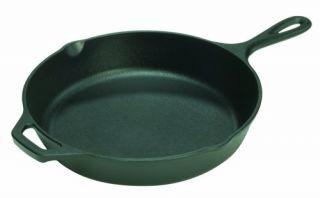 Lodge Logic Cast Iron 12 inch Small Pre Seasoned Skillet Cookware Pan