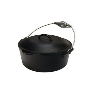 New Lodge Logic Pre Seasoned 5 Qt Dutch Oven Cast Iron