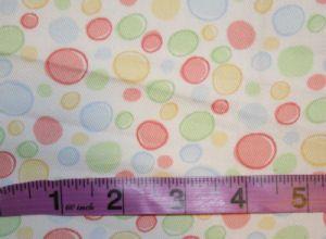Little Rock Pastel Bubble Polka Dots Decorator Fabric