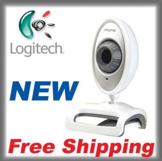 New Creative Live Cam Video Im Notebook VFO220 Webcam Videocam White