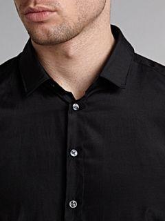 Hugo Boss Orien textured shirt Black