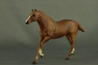 Plastic Toy Little Bits Breyer Reeves Horse Thoroughbred Stallion