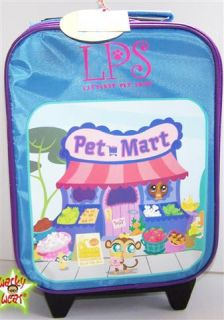 Little Pet Shop Official Trolley Suitcase Bag Hot New