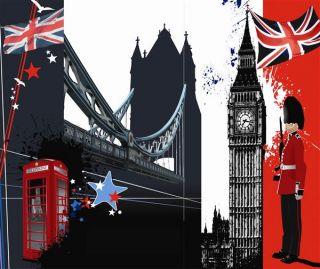 English London Union Jack English Flag Mouse Pad Cool