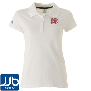 London 2012 Union Jack Womens Polo Shirt
