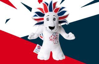 Team Great Britain London Olympics 2012 Lion 30cm Soft Toy