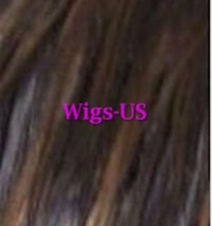 Heat Resistant Human Hair Blend Long Straight Bangs Womens Wig