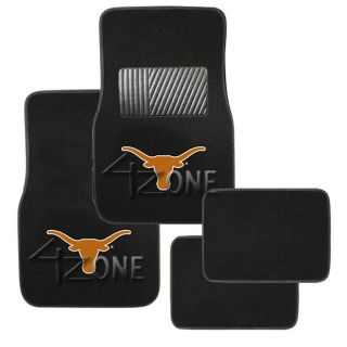 Truck LICENCE Floor Mat NCAA College Football Texas Longhorns