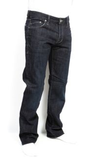 New Mens William Rast Logan Jeans Straight Leg Shanghai