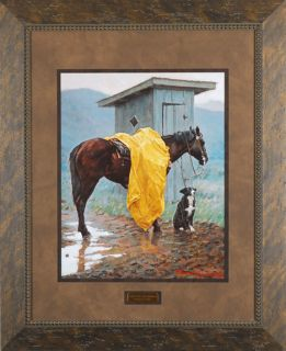 Rainy Days and Monday Lorimer Thomas Western Framed Art