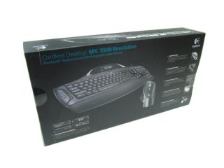 New Logitech MX 5500 Revolution Wireless Bluetooth Mouse and Keyboard