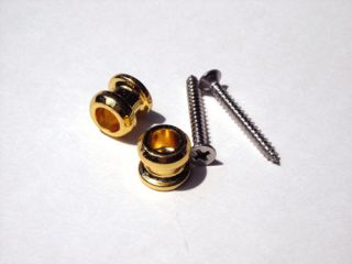 Replacement Buttons for Schaller Strap Lock System Gold