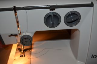 Lotus by ELNA Portable Sewing Machine Precision Made in Switzerland